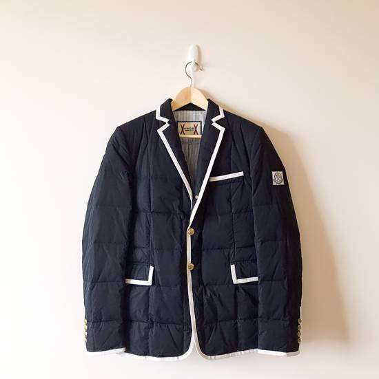 Thom Browne THOM BROWNE X MONCLER GAMME BLEU DOWN SUITS Size 38R