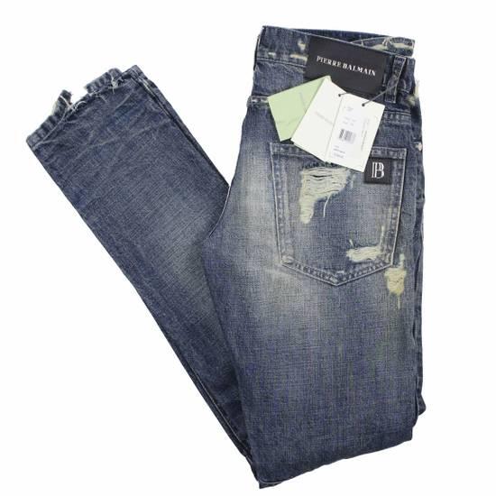 Balmain Pierre Balmain Distressed Moto Biker Jeans Size 32 Made in Italy Size US 32 / EU 48 - 2