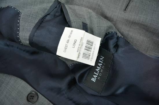 Balmain Balmain Suit Gray Size 40R (50R IT) Retail $2,950 Kayne West Size 40R - 6