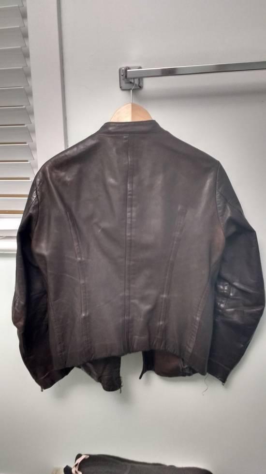 "Julius FINAL DROP a/w 2005 ""thieves"" leather fencing jacket Size US M / EU 48-50 / 2 - 1"