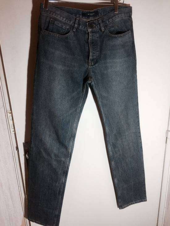 Givenchy Cuban Fit Slim Washed Jeans Size US 31 - 1
