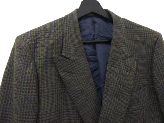 Givenchy Tailored Glen Plaid Blazers Size 38R - 5