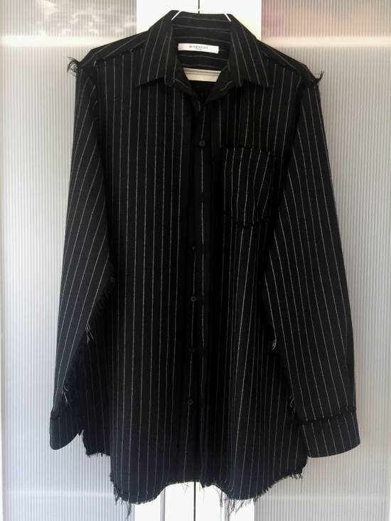 Givenchy Pinstripe used look Shirt by Riccardo Tisci Size US S / EU 44-46 / 1