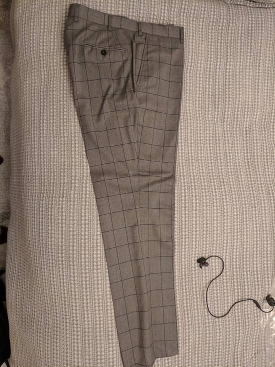 Spier And Mackay Grey Windowpane VBC Slim Suit Size 42R - 5