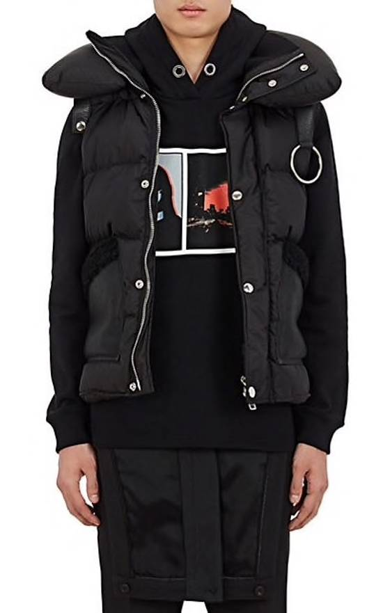 Givenchy Givenchy Shearling Trimmed Puffer Jacket Size US L / EU 52-54 / 3