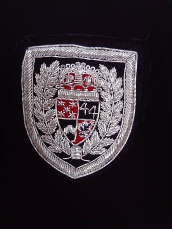 Balmain Balmain side zipped Crest hoodie L Size US L / EU 52-54 / 3 - 1