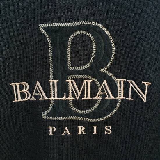 Balmain Authentic Luxury Balmain / Pierre Balmain Embroidery Big Logo Sweastshirt / Balmain Crewneck Pullover / NOT Amiri Yves Saint Laurent Visvim Chanel Gucci Size US L / EU 52-54 / 3 - 1