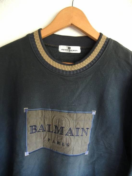 Balmain [NEED IT GONE BY TODAY] 90s Pierre Balmain Retro Green Sweatshirt Medium sz Size US M / EU 48-50 / 2 - 1
