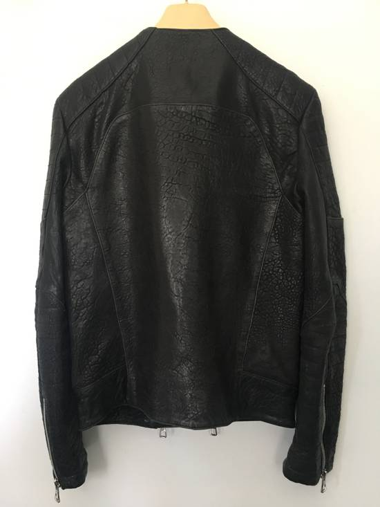 Balmain BALMAIN HM BLACK LEATHER JACKET Size US M / EU 48-50 / 2 - 4