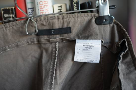 Julius Unique! One-off Presentation Sample Julius khaki zip pants Size US 34 / EU 50 - 3