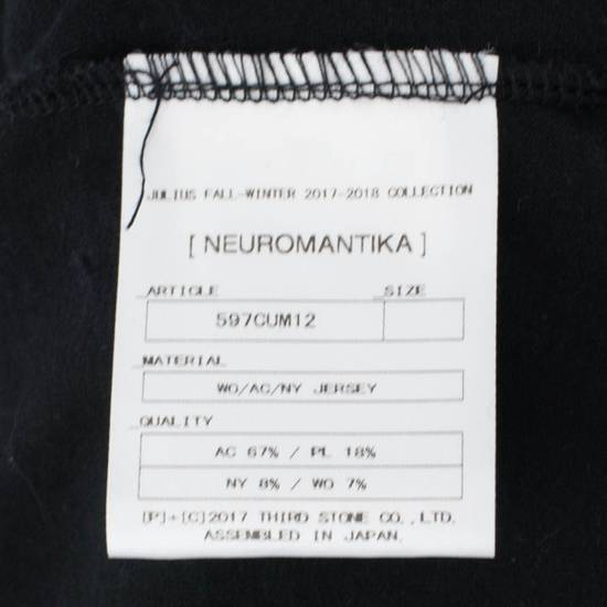 Julius 7 Black Wool Blend W/ Drawstring Pullover Sweater Size 3/M Size US M / EU 48-50 / 2 - 6