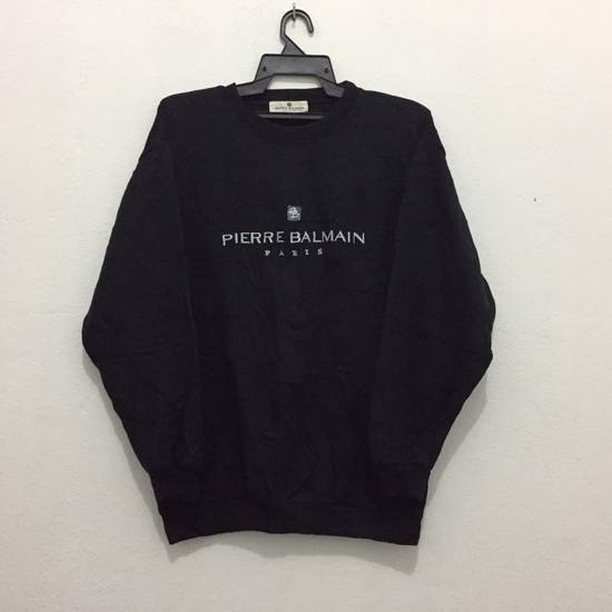 Balmain Pierre Balmain Paris Sweatshirt Embroidery Logo Size M Size US M / EU 48-50 / 2