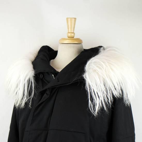 Julius Black Cotton Blend Zip-Up Hooded Parka Coat Size 3/M Size US M / EU 48-50 / 2 - 4