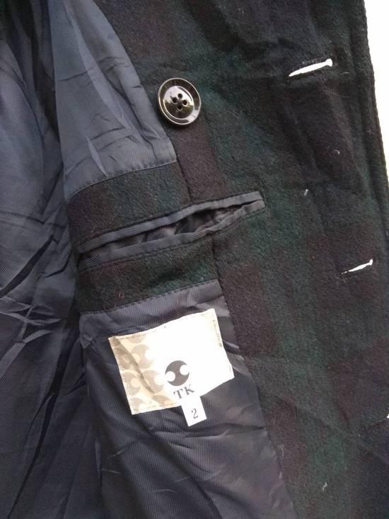 Takeo Kikuchi Takeo Kikuchi Check Plaid Tartan double breast light coat jaket parka Size US M / EU 48-50 / 2 - 5