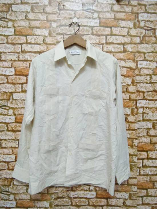 Givenchy Monsieur GIVENCHY shirt button up pit 21 inch length 28 inch (A52) Size US M / EU 48-50 / 2