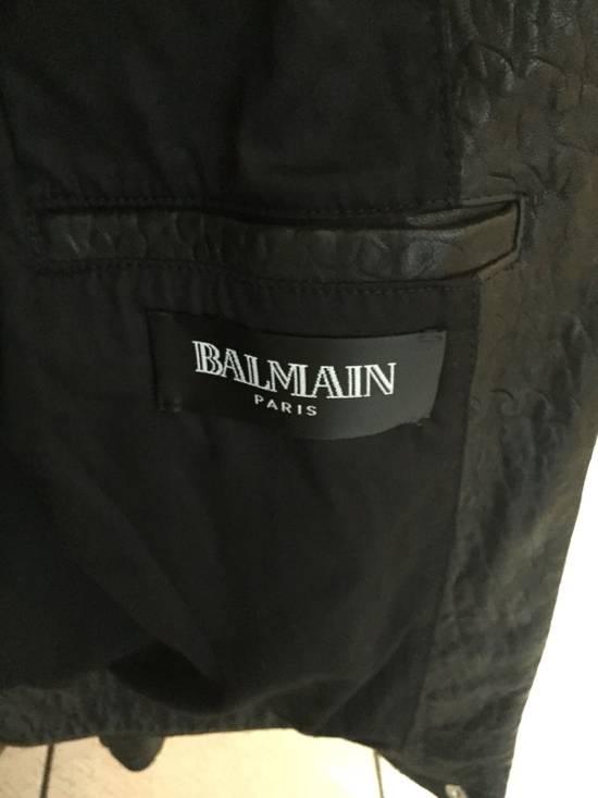 Balmain Classis Leather Jacket Size US M / EU 48-50 / 2 - 3