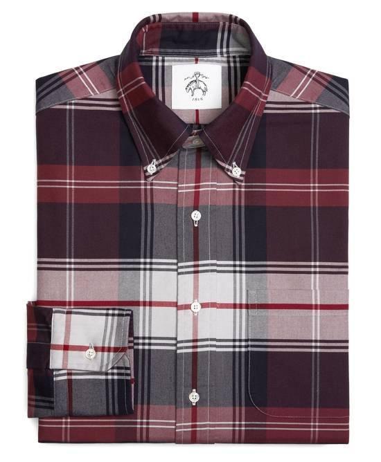 Thom Browne Tartan Oxford Button-Down Shirt Size US M / EU 48-50 / 2 - 2
