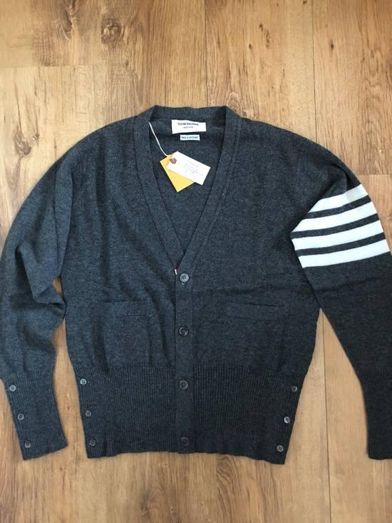 Thom Browne * FINAL DROP * Classic 4 Bar Cashmere Cardigan Size US S / EU 44-46 / 1