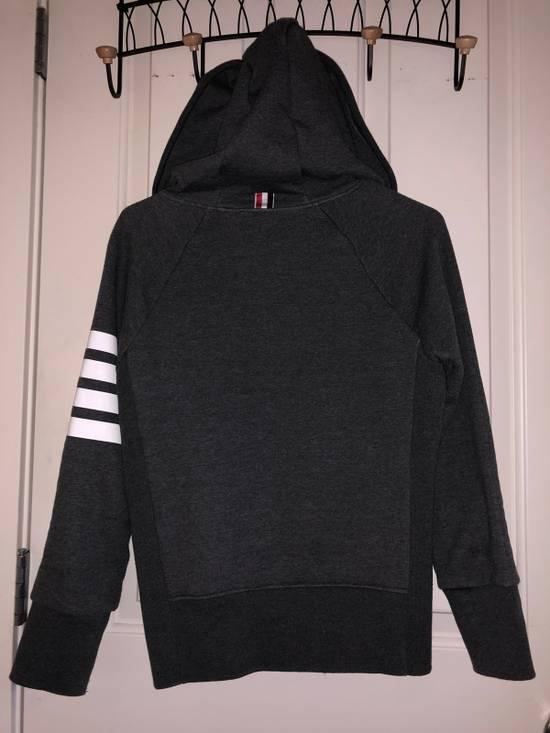 Thom Browne Hoodie in Dark Grey Size US XS / EU 42 / 0 - 2