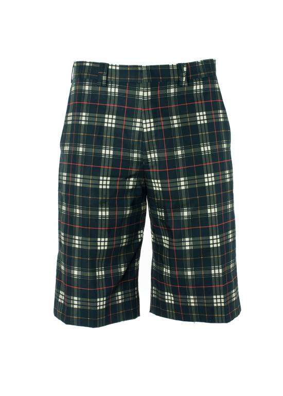 Givenchy Givenchy Mens 100% Cotton Black Plaid Board Shorts Size US 38 / EU 54