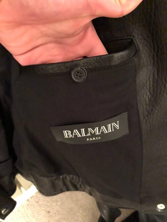 Balmain Classic Leather Jacket Size US M / EU 48-50 / 2 - 2