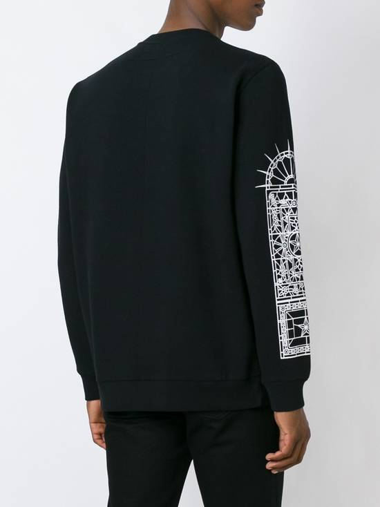 Givenchy GIVENCHY-Christ-Print-Sweatshirt-Size-L Size US L / EU 52-54 / 3 - 3