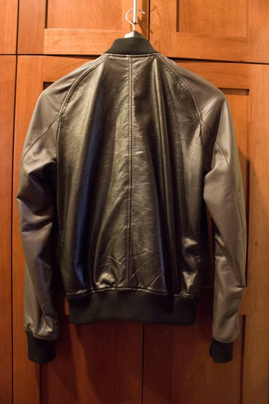 Balmain Leather Bomber Size US S / EU 44-46 / 1 - 14