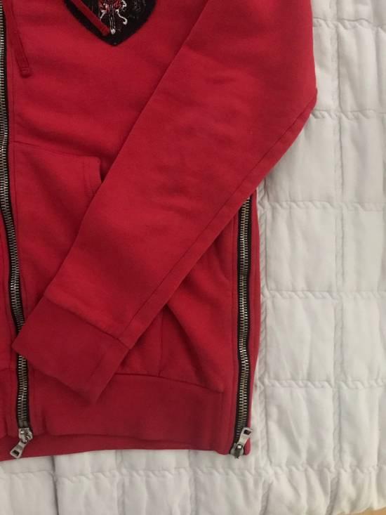 Balmain 12FW Red Hoodie Size US M / EU 48-50 / 2 - 3