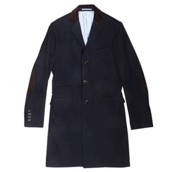Gant Navy Chesterfield Overcoat Size US M / EU 48-50 / 2