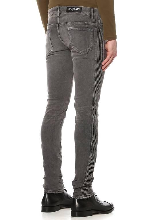 Balmain Grey Side Detail Jeans Size US 33 - 2