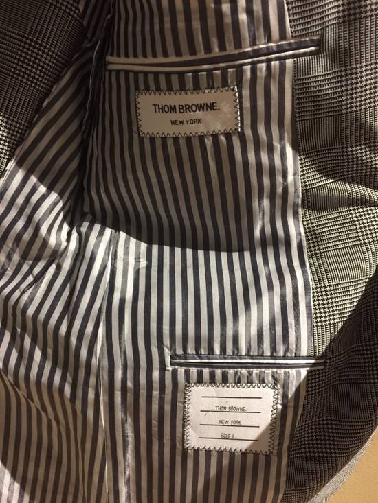 Thom Browne Rare Black Arm Stripe Blazer Size 38R - 3
