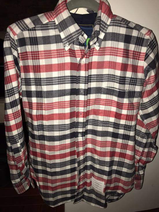 Thom Browne Plaid Long Sleeve Buttoned Shirt Size US XS / EU 42 / 0