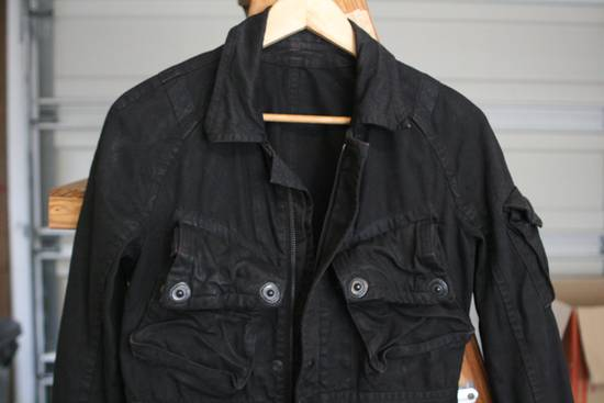 Julius Coated Black Gasmask Cargo Jacket Size US S / EU 44-46 / 1 - 2