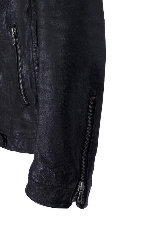 Julius Black Buffalo Leather Jacket SS08 Size US M / EU 48-50 / 2 - 2