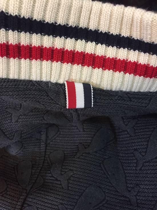 Thom Browne Whales Wool Varsity Jacket Size US M / EU 48-50 / 2 - 2