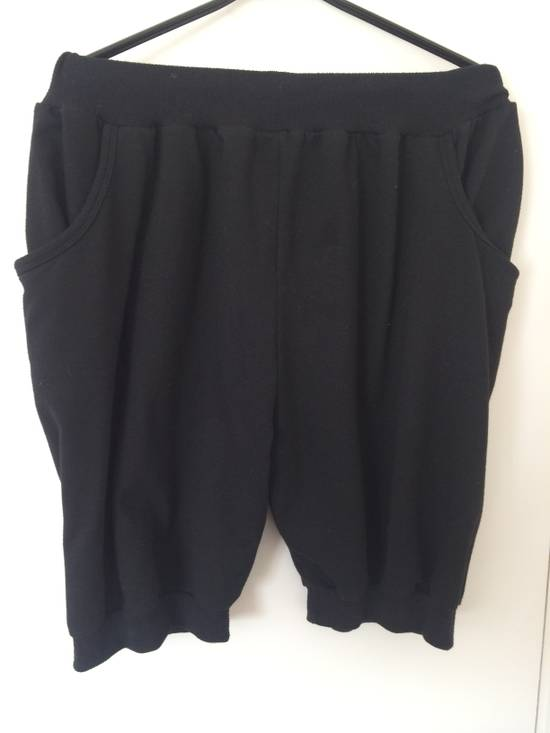 Julius black Hikho Julius shorts with loose pockets and asymmetrick details Size US 32 / EU 48