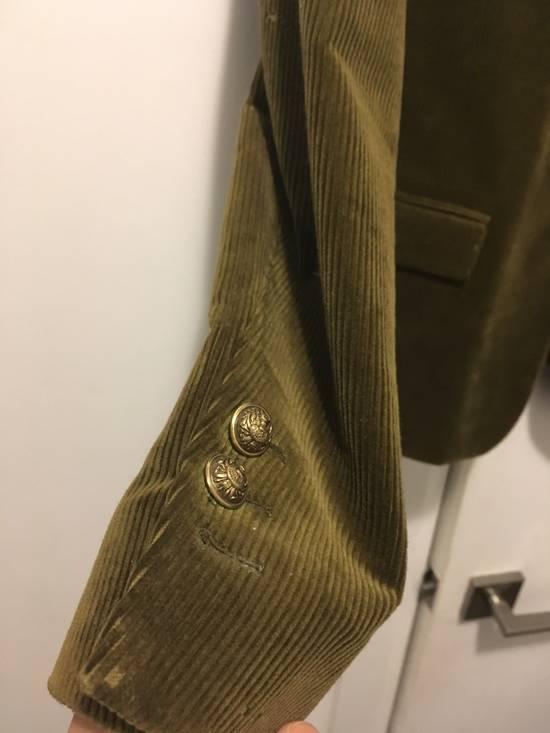Balmain FW11 Distressed Corduroy Blazer Size 36R - 5