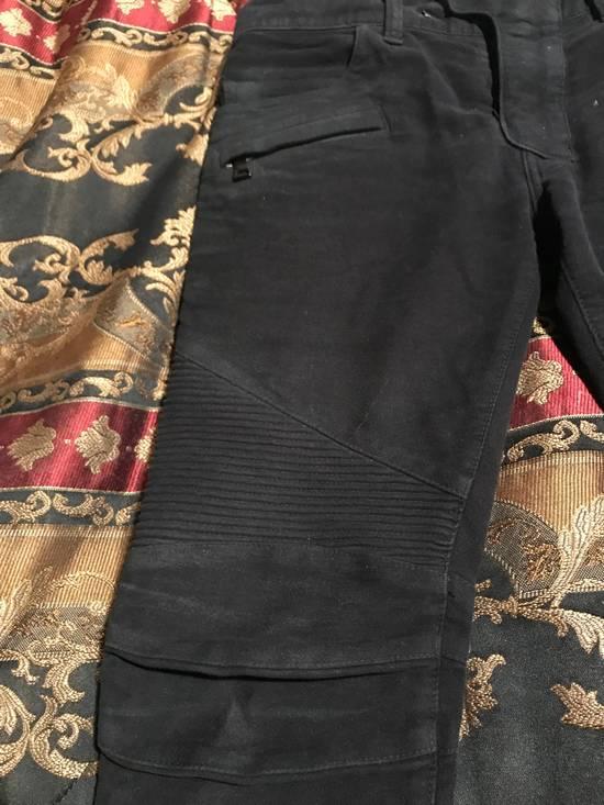 Balmain Black Moleskin Denim Size US 30 / EU 46 - 2