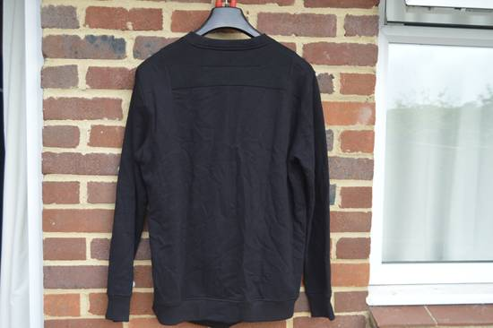 Givenchy Black Bonded Cotton Detail Sweater Size US M / EU 48-50 / 2 - 4
