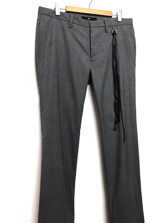 Julius S/S 2009 MA COLLECTION THIN WOOL JULIUS PANTS Size US 32 / EU 48 - 3