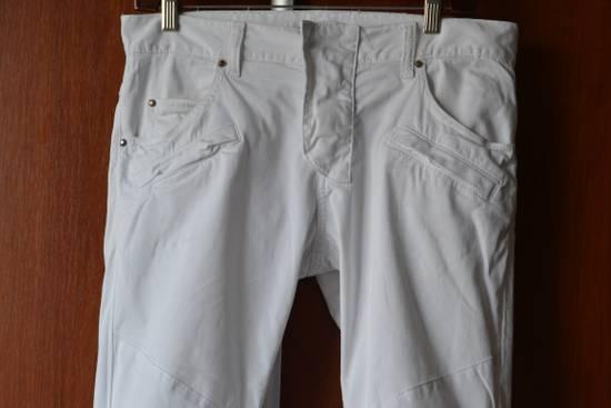 Balmain white biker pant Size US 32 / EU 48 - 1