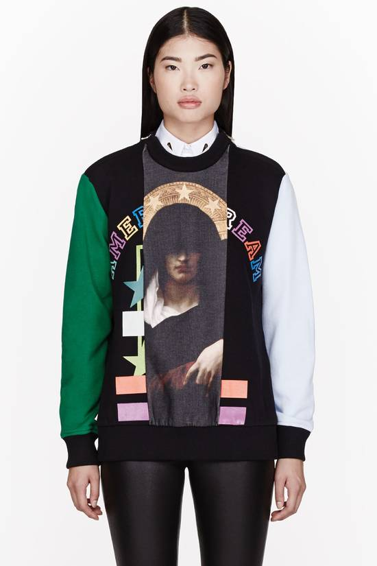 Givenchy $1375 Givenchy Colorblocked Madonna American Dream Rottweiler Sweatshirt size M Size US M / EU 48-50 / 2 - 1
