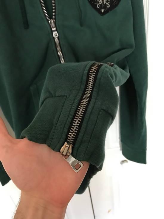 Balmain Embroidered Crest Side Zip Hoodie Size US L / EU 52-54 / 3 - 6