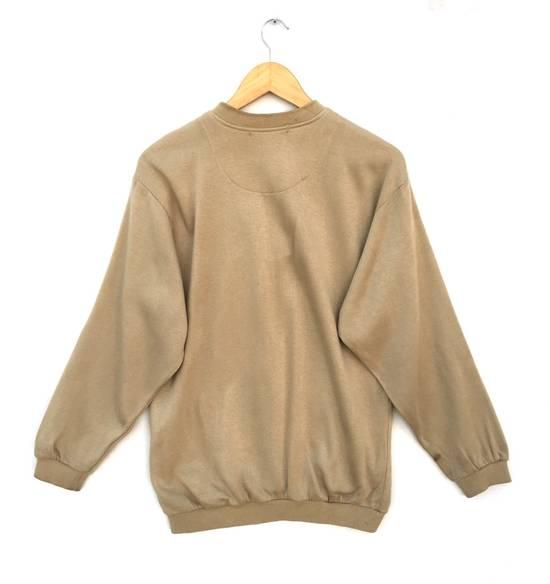 Balmain Original Luxury Pierre Balmain Embroidery Small Logo Sweatshirt / Pierre Balmain Pullover / Pierre Balmain Jacket Luxury Vintage Fashion Style Size US M / EU 48-50 / 2 - 2