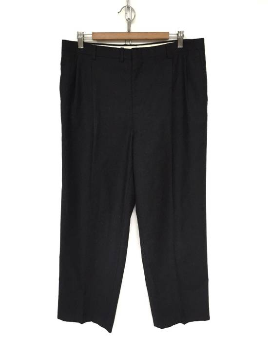 Givenchy FW10 Black Baggy Oversized Wool Trousers Pants Size US 36 / EU 52