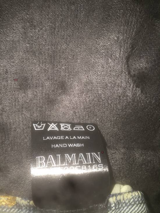 Balmain Distressed Black Shorts Size US 34 / EU 50 - 2