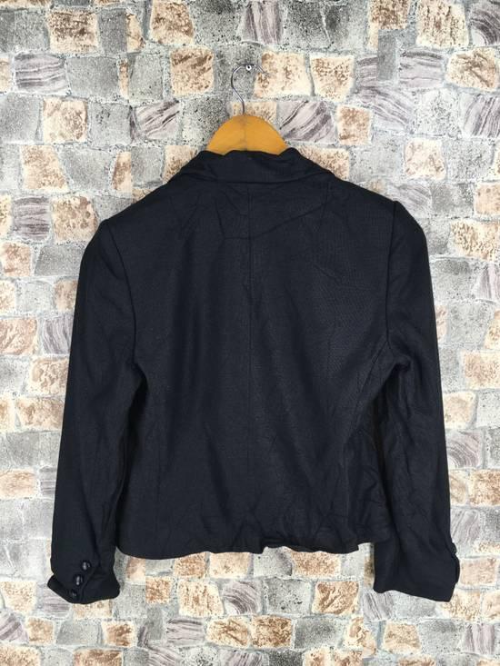 Givenchy GIVENCHY Ladies Coat Jacket Small Black Vintage Designer Givenchy Yohji Comme Des Buttondown Formal Blazer Cropped Women Size S Size US S / EU 44-46 / 1 - 5