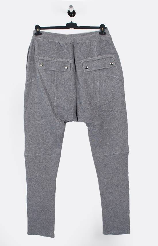 Balmain Original New Balmain Baggy Crotch Grey Men Trousers Sweat Pants in size M Size US 32 / EU 48 - 3