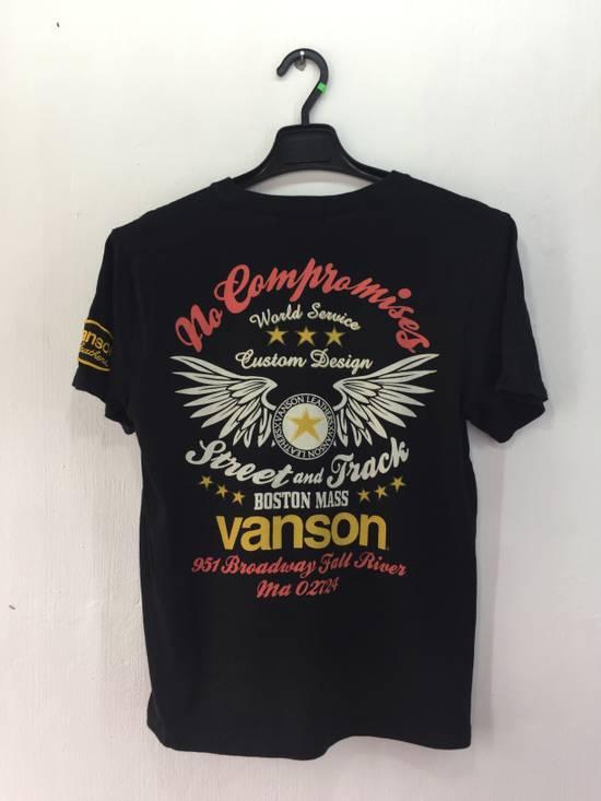 Vanson Leathers VANSON LEATHER NO COMPROMISE BOSTON MASS NICE DESIGN SHIRT Size US M / EU 48-50 / 2