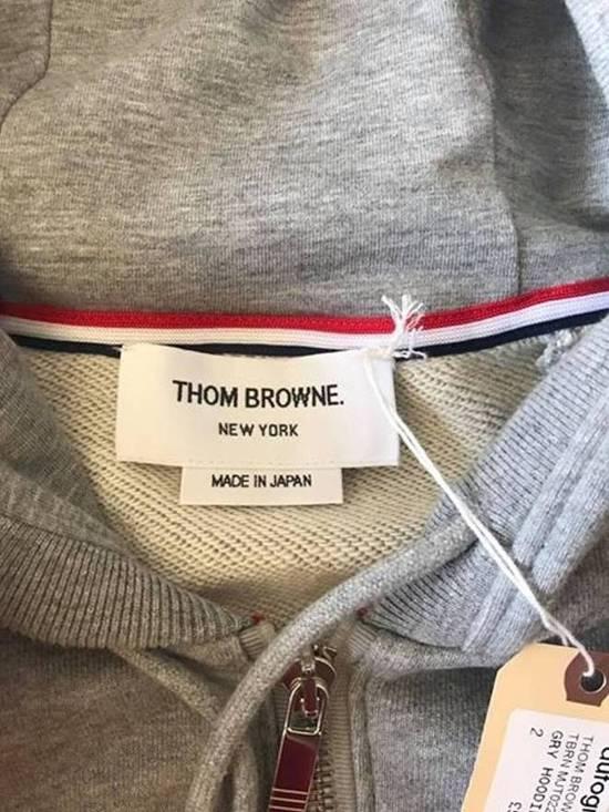 Thom Browne THOM BROWNE CLASSIC 4-BAR HOODIE Size US L / EU 52-54 / 3 - 2
